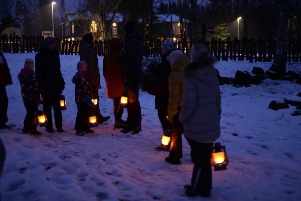 Kalevipoja Koja jõuluprogramm 'Siili jõulumaa'