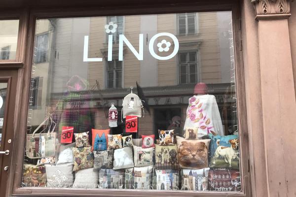 Lino - suveniiri - ja disaintoodete pood