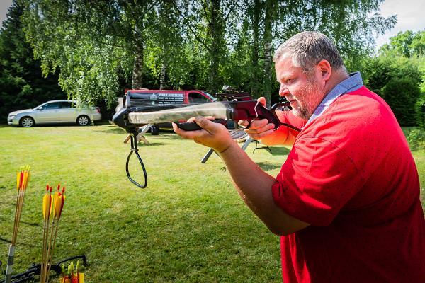 Archery with NS Archery Club in Vastse-Kuuste