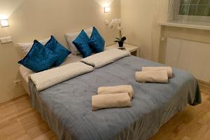 Loma-asunto Ilmarisen makuuhuone