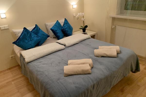 Ilmarine apartment, bedroom