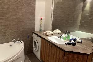 Loma-asunto Ilmarisen kylpyhuone