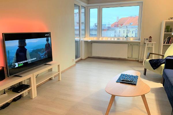 Guest apartment with a balcony on Raua tänav in Tallinn