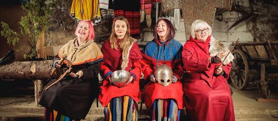 Saarenmaa juhlii viikinkeja vuonna 2021
