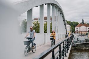 Архитектурная пешая прогулка по Тарту: с Тарту приятно знакомиться на велосипедах