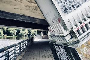 Graffiti under Frihetsbron