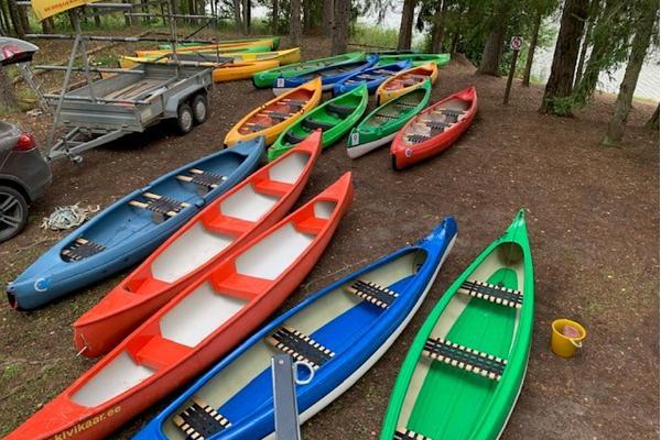 Kanuu, Hiigelkanuu, Rafti, Süsta matkad