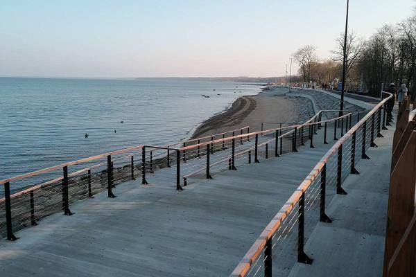 Sillamäe beach promenade