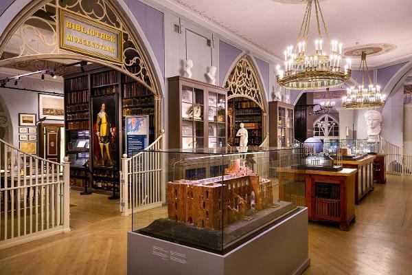 Tarton tuomiokirkossa sijaitseva Tarton yliopiston museo