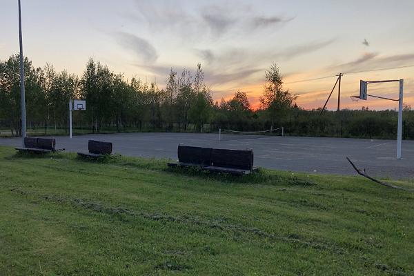Puhke- ja Spordikeskus Rummusaare - Kakerdaja raba lähistel.