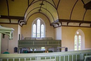 Viron ev. lut. Rõngun Mikaelin kirkko sisältä