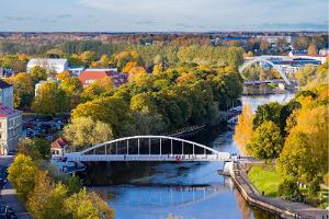 Guided tour 'Parks and shores of Tartu' – something for the soul: Arch Bridge and surrounding greenery