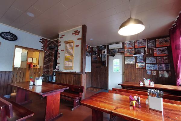Jõesuu bykafé och butik på gränsen av Soomaa nationalpark