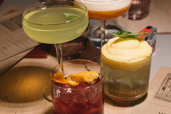 Valik kokteile Kampuse menüüst