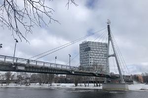 Turusild (Marknadsbron) på vintern