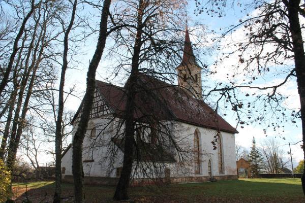 IELB Rannu Svētā Mārtiņa baznīca no ārpuses