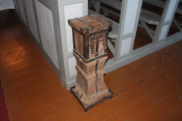 Ziedojumu kaste Rannu baznīcā no 1755. gada