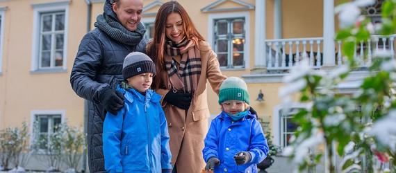 Maršrutu idejas ģimenei ierodoties Igaunijā ar auto