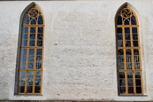 Windows of Rannu Church