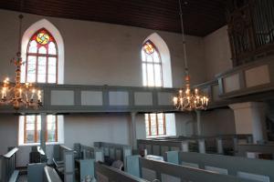 Rannu kyrka inifrån