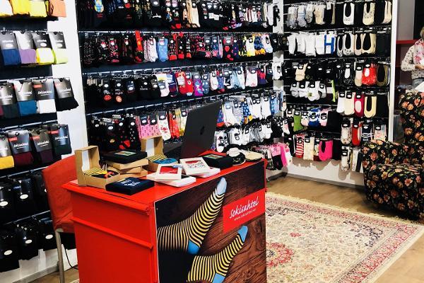 Sokisahtel store at Tallinn Airport