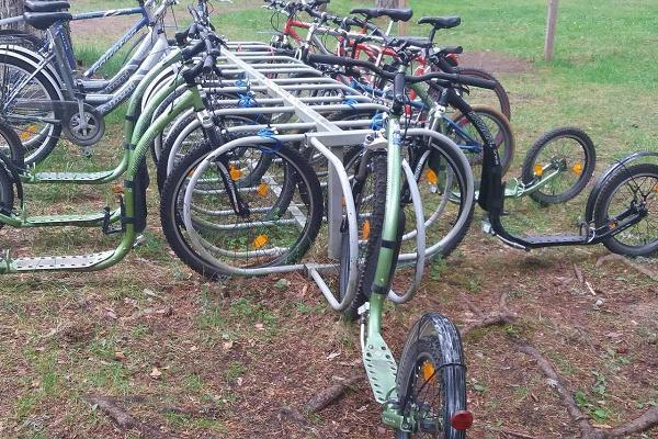Bike rental at Tartu County Recreational Sports Centre