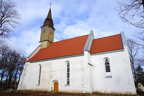 South side of Puhja Church
