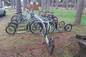 Прокат велосипедов в Тартумааском центре оздоровительного спорта