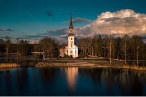 EELK Michaeliskirche in Räpina