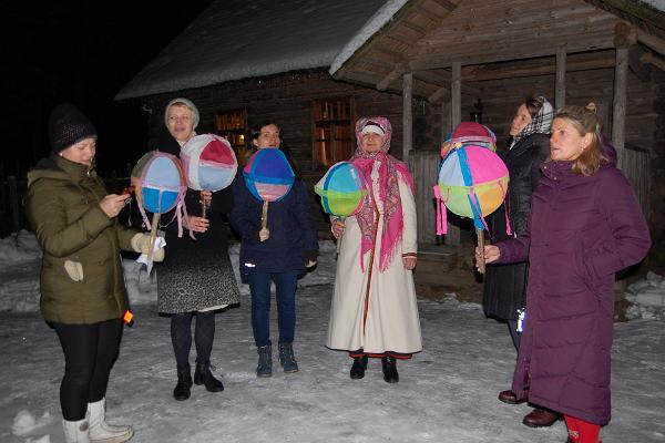 Talsipühade tähistamise kombestik Värska talumuuseumis