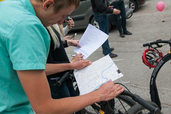 Приключение на самокатах в городе Тарту: приключенческая игра, карта в помощь