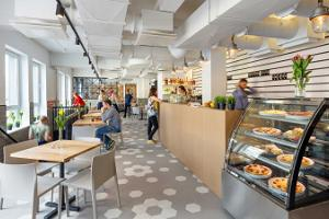 Hektor Design Hostelin kahvila