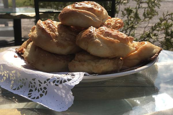 You can taste homemade pastries at Emmaste Tea House