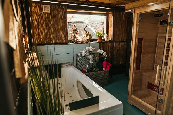 Väikesaare puhkemaja saunaala