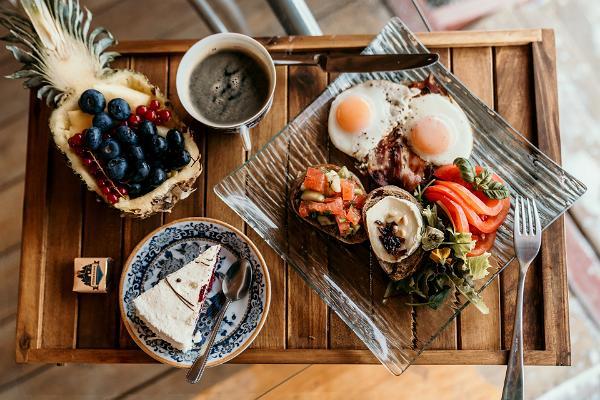 Väikesaare puhkemaja valik hommikusöögipakkumisest