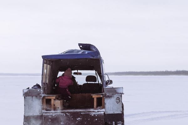 Karakatu safari uz Peipusa ezera ledus