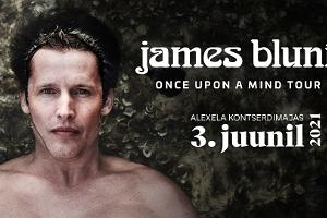 "James Blunt lanseringsturné av nya albumet ""Once Upon A Mind"""