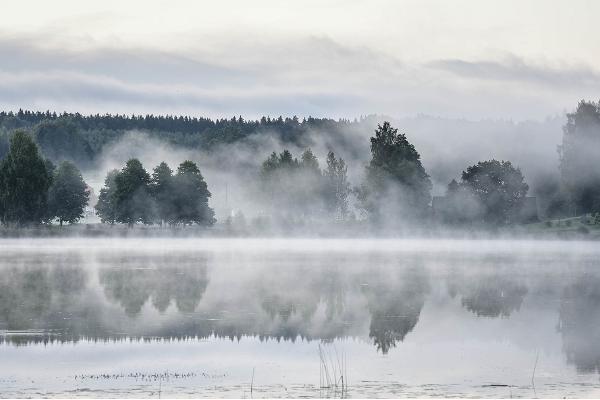 Ööbikuorg (Ēbiku ieleja) un Reuges ezeri