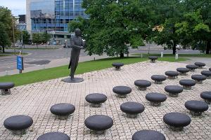 Das Eduard-Tubin-Denkmal