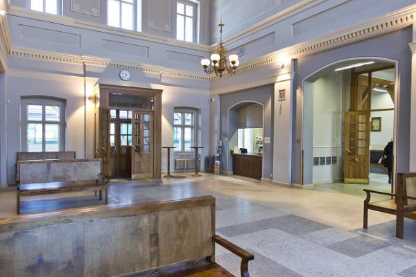 Зал ожидания Тартуского железнодорожного вокзала