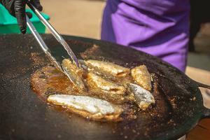Tag der Fischbuffets am Zwiebelweg