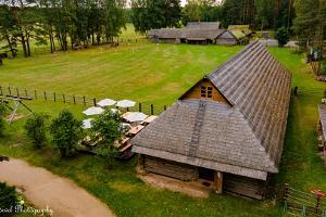 Чайная в Вярска хуторный музей (Tsäimaja)