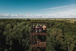 Wanderweg und Aussichtsturm Suitsu der Staatlichen Forstverwaltung