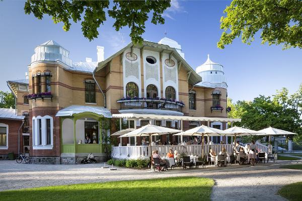 Afternoon Tea at Villa Ammende