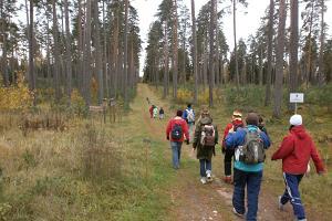 Wanderweg des Präsidenten in Jäneda