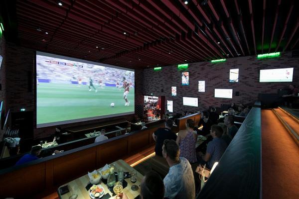 Sportrestaurant und Unterhaltungszentrum O