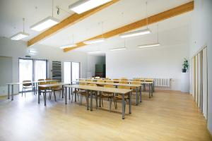 Vinni sports complex hostel seminar rooms