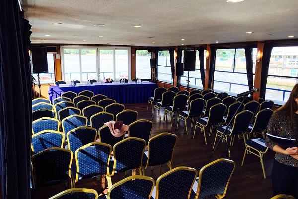 Seminar rooms on the steamer Katharina