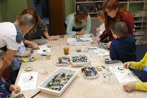 Narva Käsitöömaja mosaiigi õpitoad