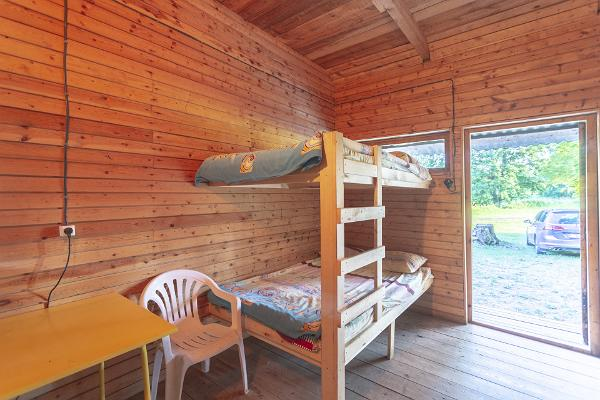 Ranna Recreation Centre, room with bunk beds